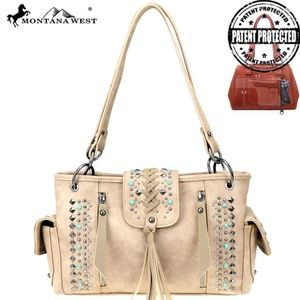 Handbags - Montana West Western Collection Concealed Carry Sa